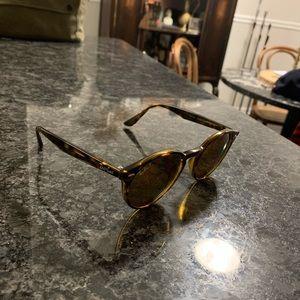Ray-Ban™ Men's Round Tortoise Sunglasses